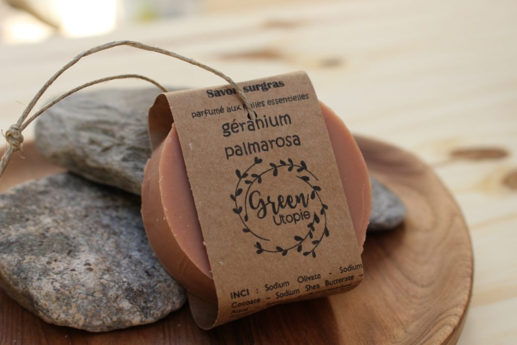 savon géranium palmarosa