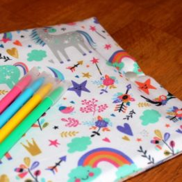 cahier à colorier nomade et lavable