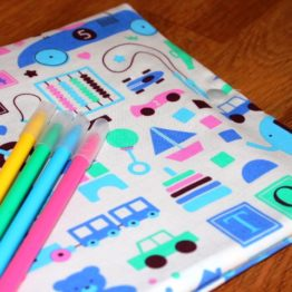 cahier de coloriage nomade